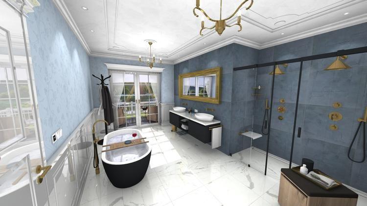 Middelkoop Culemborg / Badkamers) Deze unieke badkamer heeft een ...
