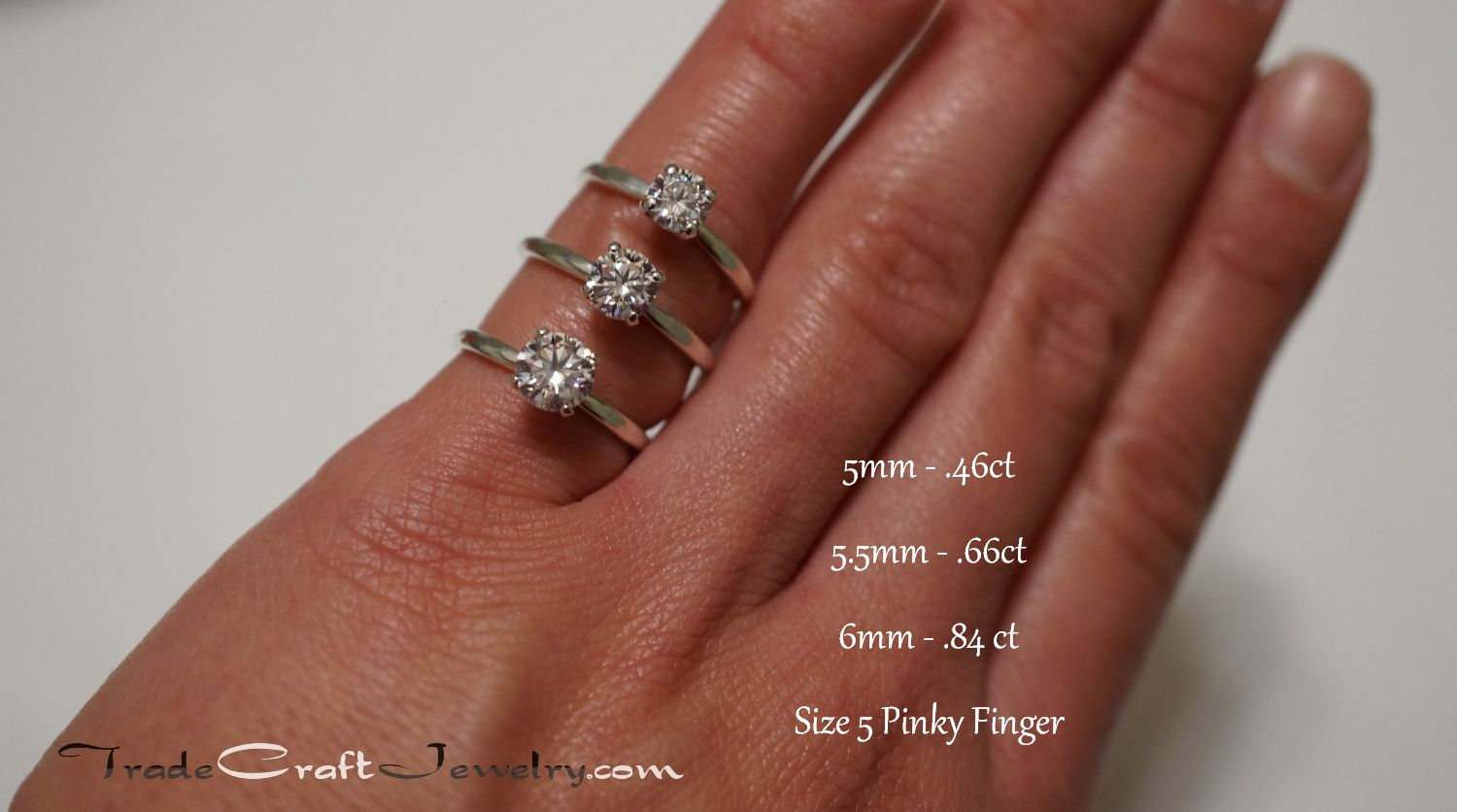 Seeking Pics Of 1 2 Carat To 3 4 Carat Diamond E Rings On Size 5 Finger Weddingbee 2 Carat Ring Rings Lovely Jewellery