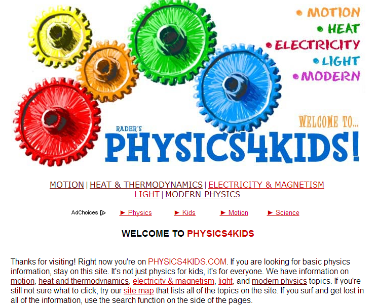 Learning Never Stops: 7 science websites for students of any