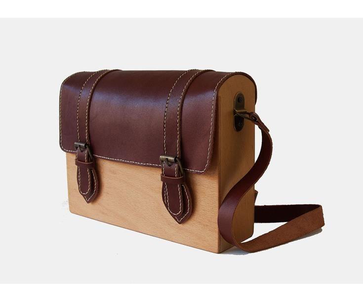 8c8ba6e22e8c8 Bonvagon - Çanta - Klasik Satchel Ahşap Çanta | Bag | Çanta tasarımı ...