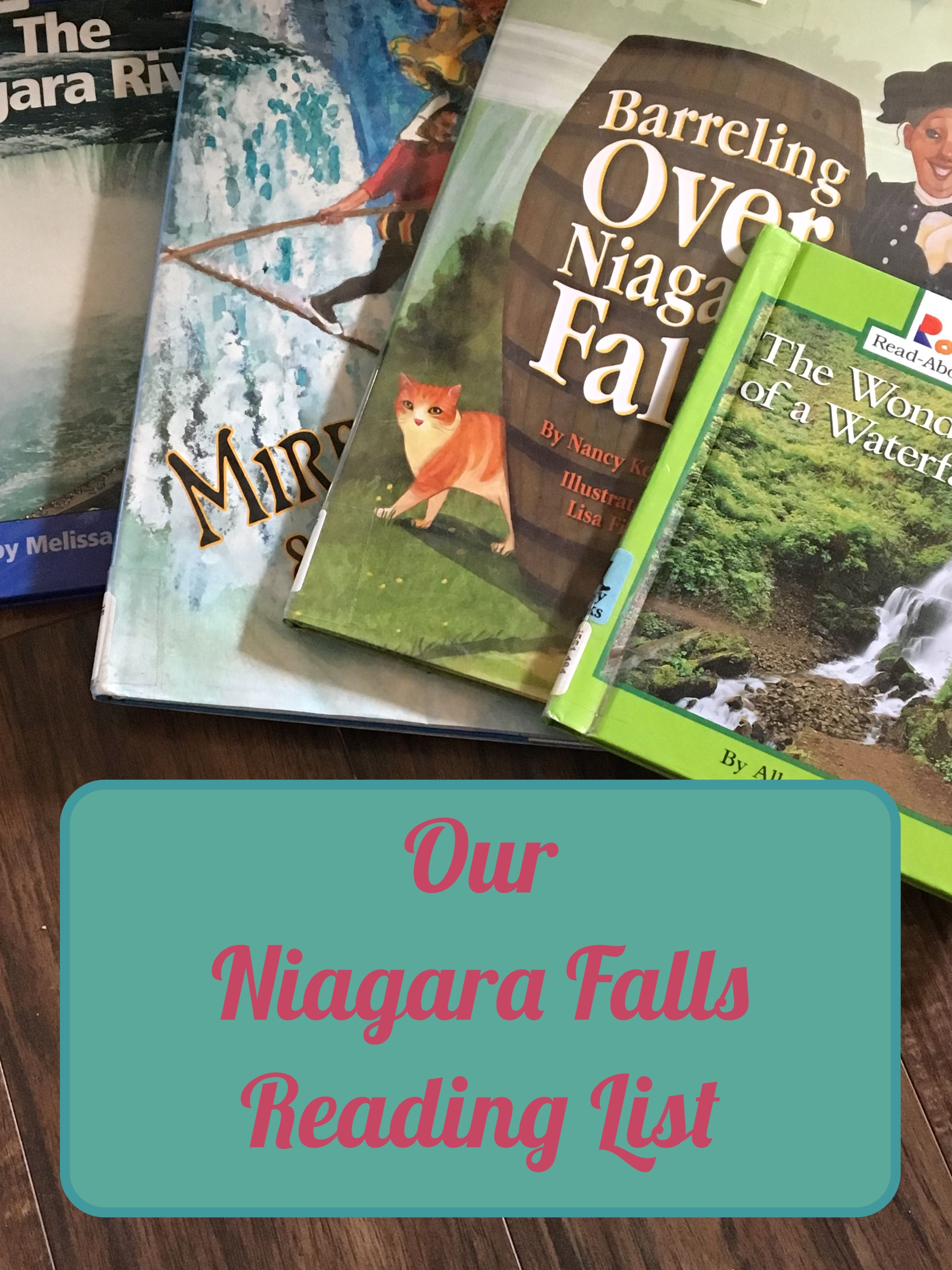 Our Niagara Falls Reading List | Home School is Way Cool
