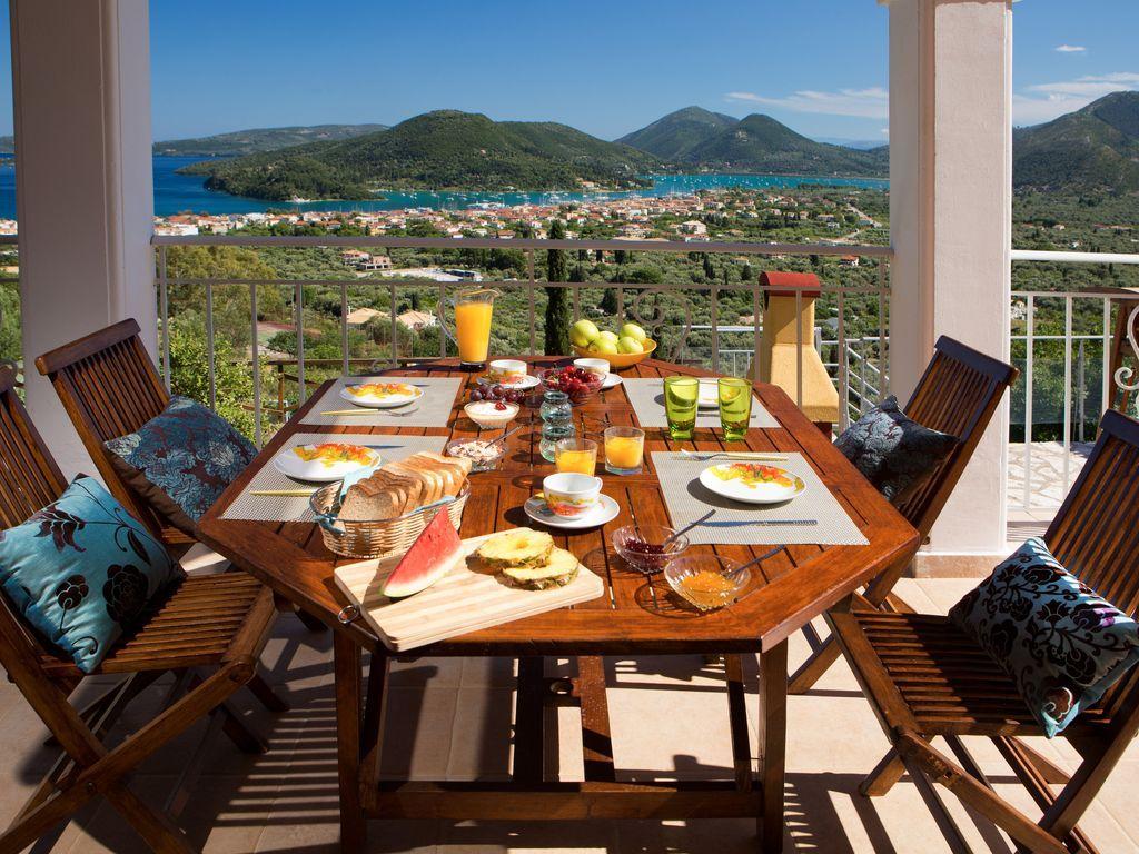 Colazione coi fiocchi in questa casa vacanza in Grecia