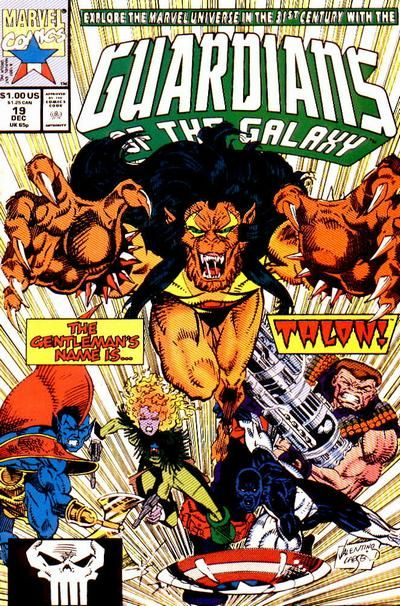 Guardians of the Galaxy # 19 by Jim Valentino & Erik Larsen