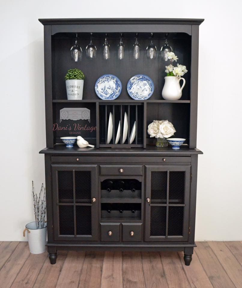 Black Liquor Cabinet (With images) | Home decor, Cabinet ...