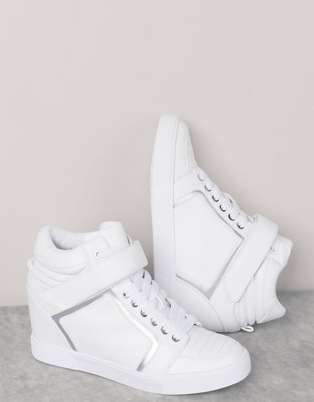 ☆Adidas NEO Lifestyle Shoes☆ Super Wedge Shoes AW4847  shoes ❤ em 2019
