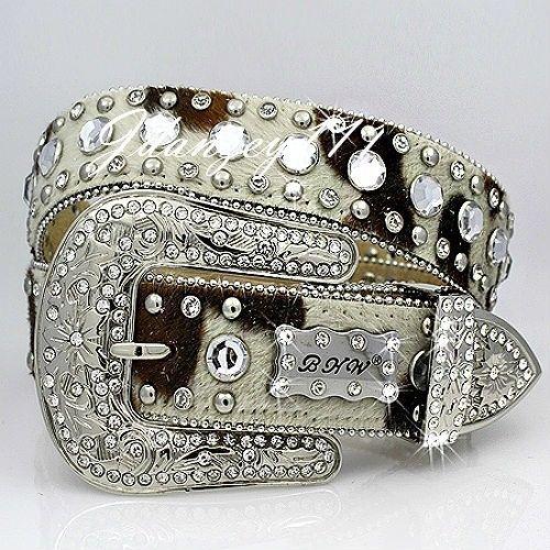 Designer Wide Women Black Belt With Chain Cross Style /& Rhinestones Size S M L