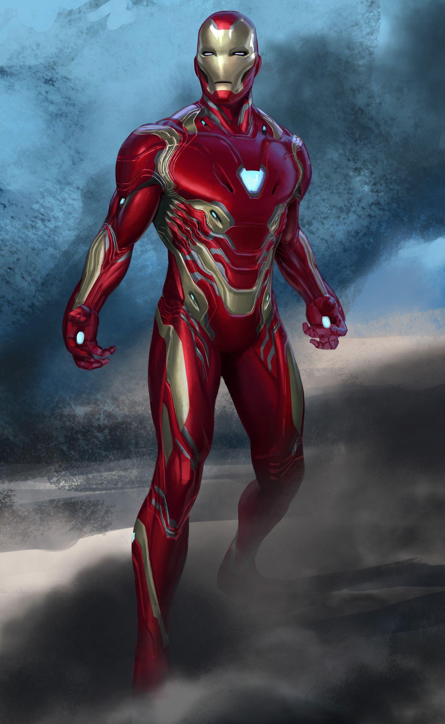 Artstation Avengers Infinity War Iron Man Mk50 Original Sketch Phil Saunders Iron Man Movie Marvel Iron Man Iron Man Art