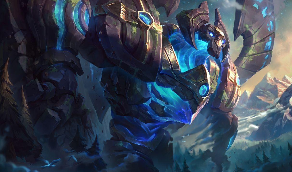 Enchanted Galio Rework League Of Legends Game Art Vi League