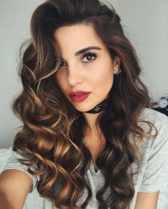 تسريحات عصرية للشعر القصير والطويل موضوع يهمك Hair Styles Hair Color Dark Winter Hairstyles