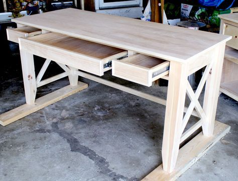 Lovely How To Build A DIY Writeru0027s Desk. Tutorial And Free Plans By Jen Woodhouse  | The House Of Wood Photo