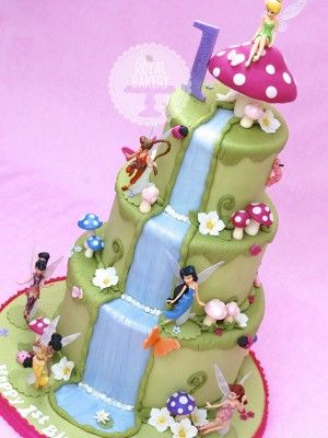 fairy themed cake - Google Search