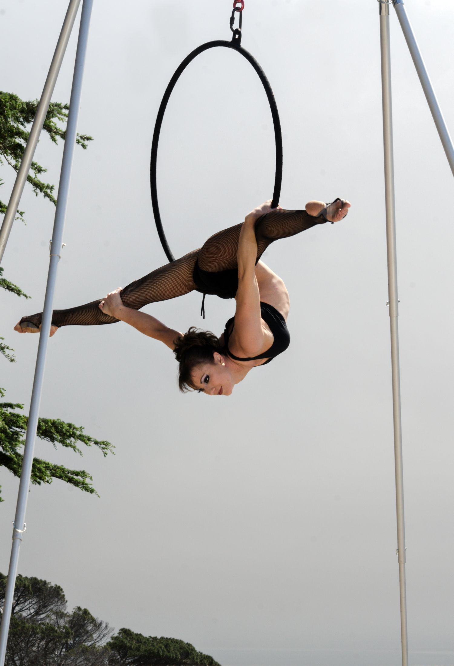 BethWilliams hangs out on the #XPole #AFrame and #Lyra #Hoop | X ...