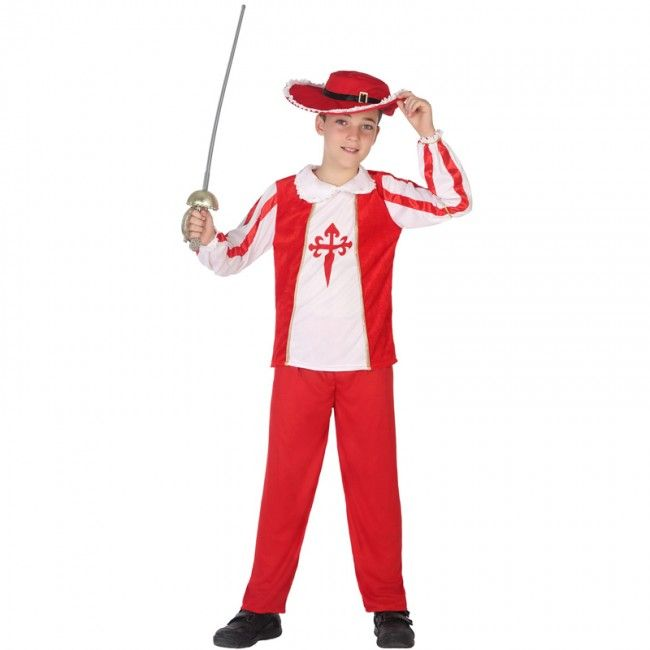 Déguisement Mousquetaire Rouge pour garçon #costumespetitsenfants #nouveauté2017