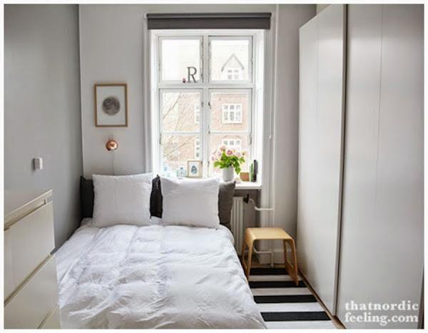 Consejos para distribuir un dormitorio muy peque o for Pequeno mueble para dormitorio adulto