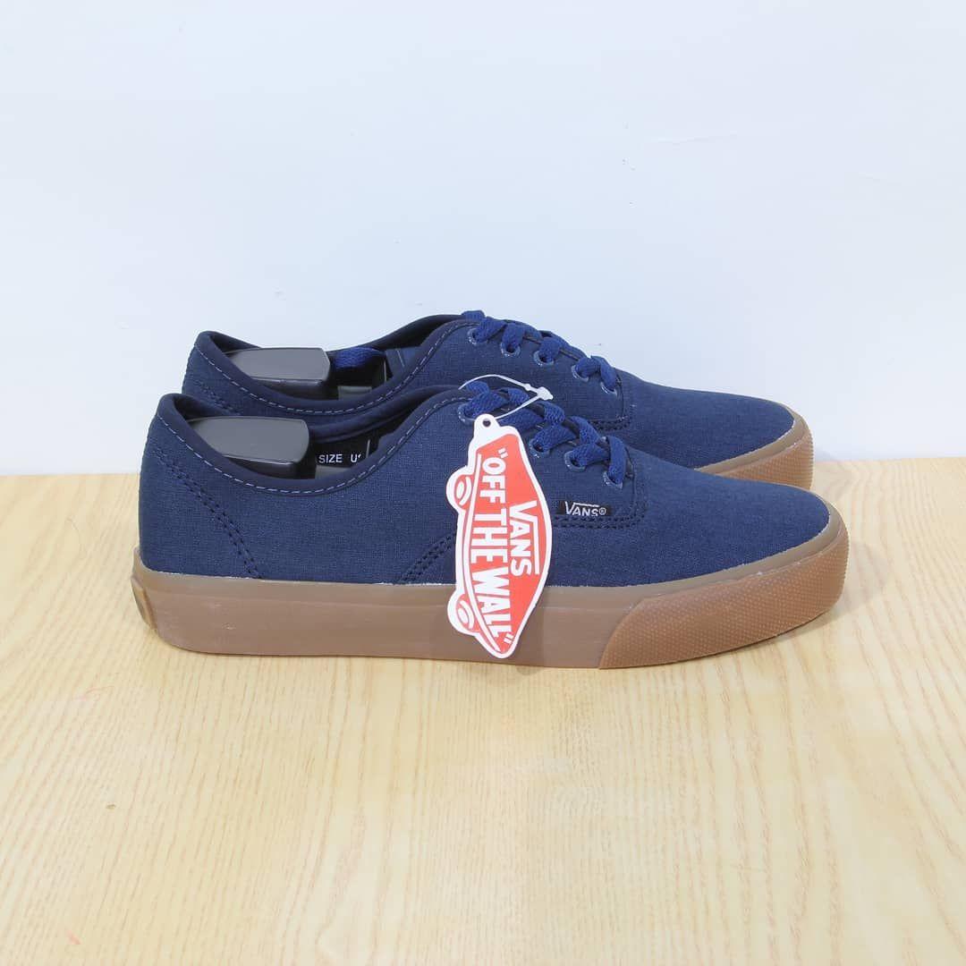 Sepatu Vans Gum Navy Grade Ori Premium Quality Waffle Dt Sudah