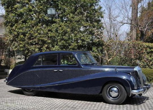 Crowned Stoat S Dream 1950 S Daimler Dk400 Stardust Show Car