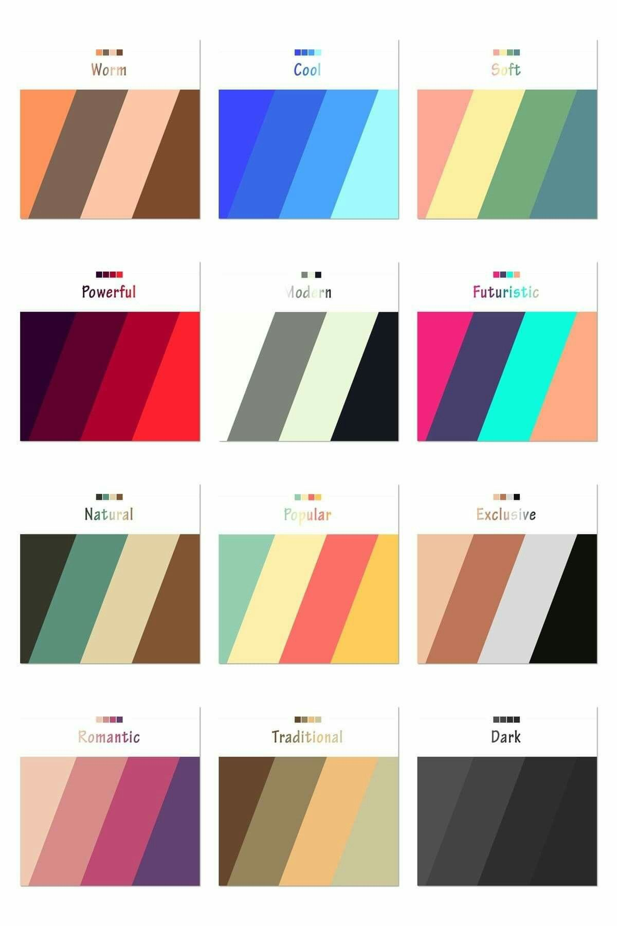 Pin By Kaewnum T On Heff New Website Color Theory Color Psychology Color Schemes