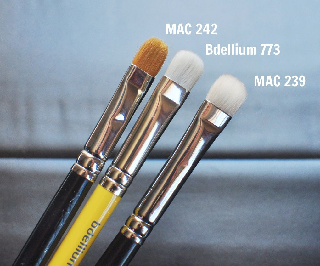 Bdellium Tools 773 Shading Blender Brush Review Beauty
