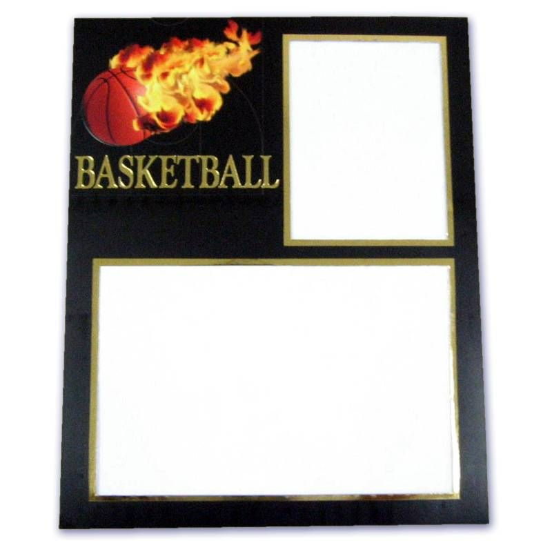 This Premium 7015 Basketball Cardboard Memory Mate Frame Is Part Of