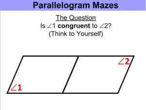 Parallel Line Mazes 1