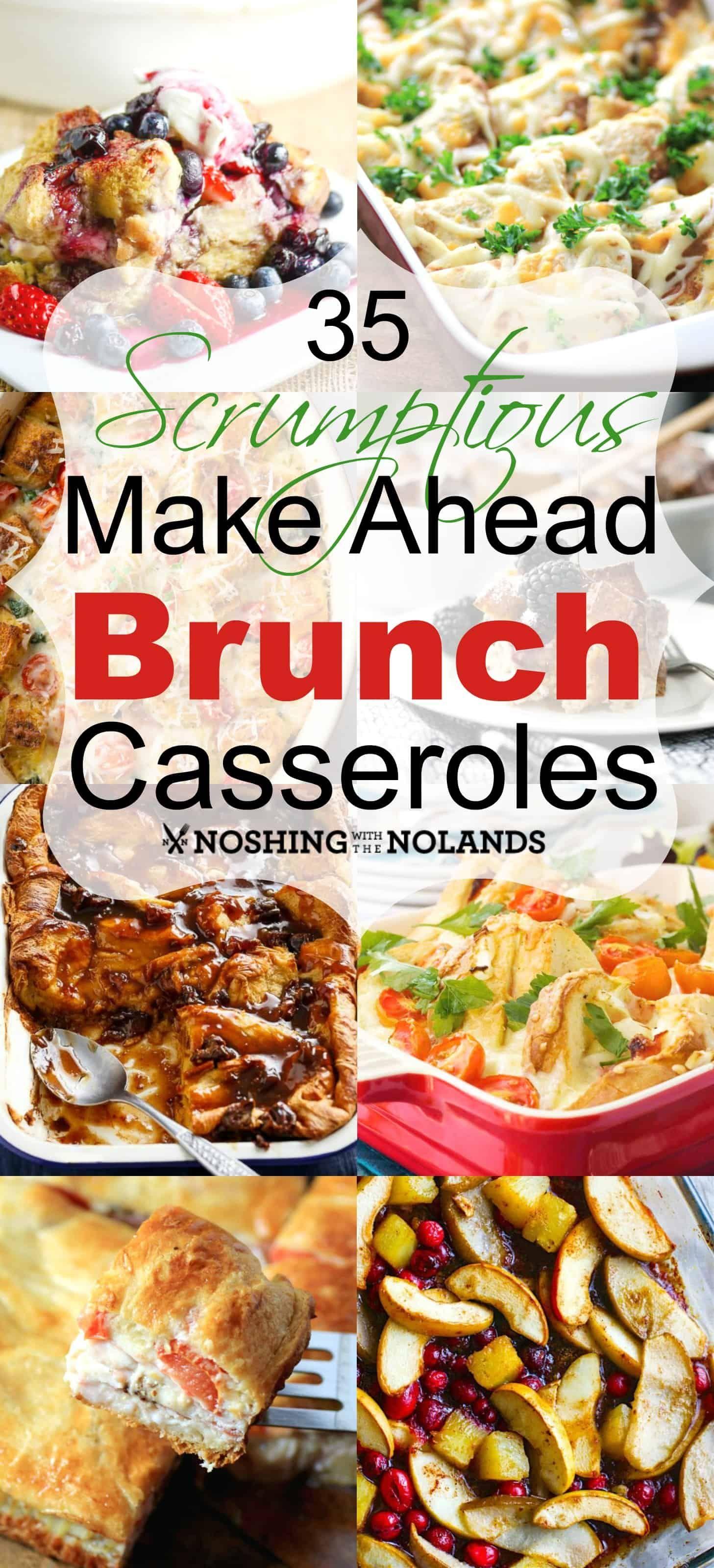 35 Scrumptious Make Ahead Brunch Casseroles #frühstückundbrunch