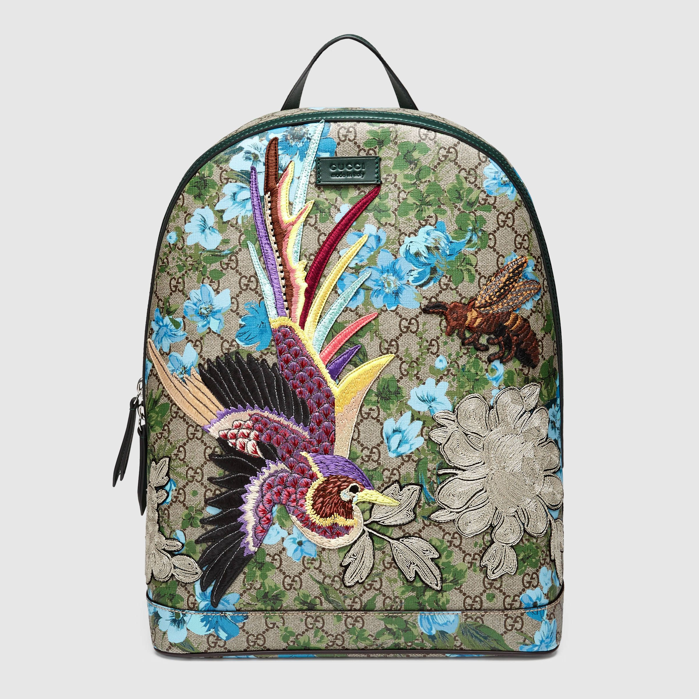 9927ab1d Gucci Men - Gucci XL GG floral print backpack - 419584KYSDK8936 ...