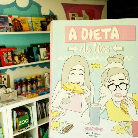 "Esta semana... ""A dieta de tíos"" de Ester y Sandra Córcoles."