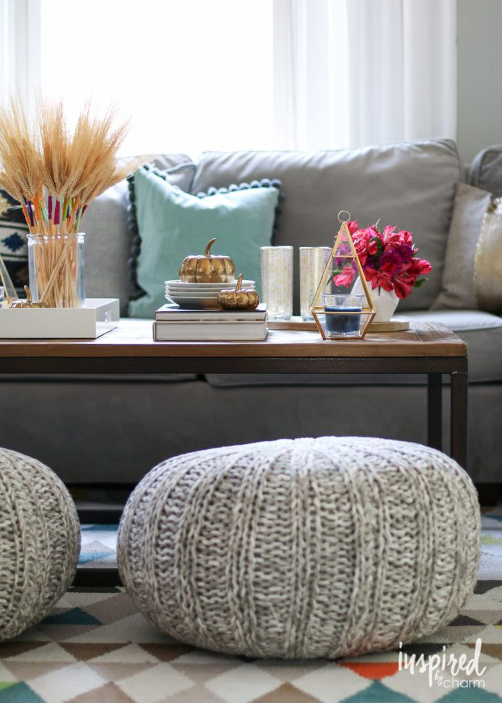 5 tips for an eclectic fall coffee table fall coffee