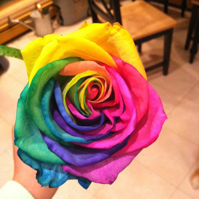 Tie dye rose i think i just found flowers for my wedding for How to make tie dye roses