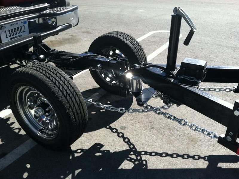 More on The Slimp Dolly Airstream Forums Truck hitch