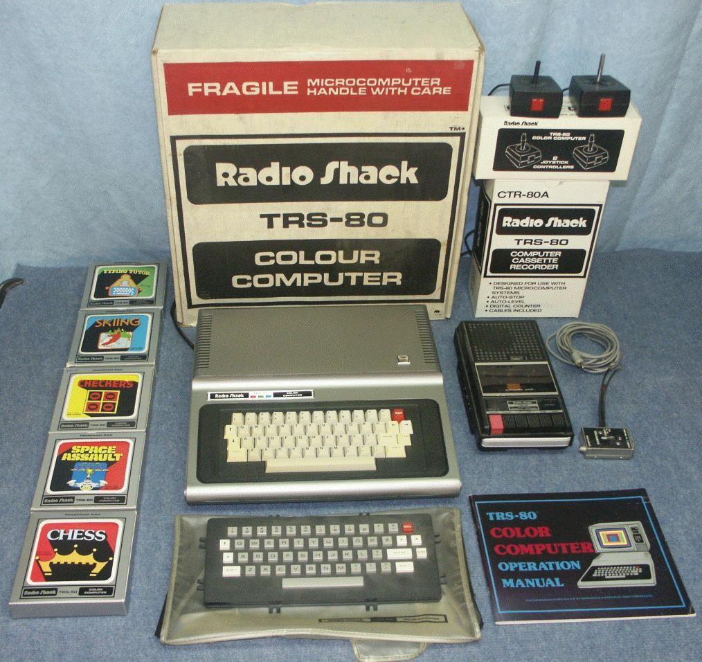 daves old computers radioshack tandy color computer dragon メカ