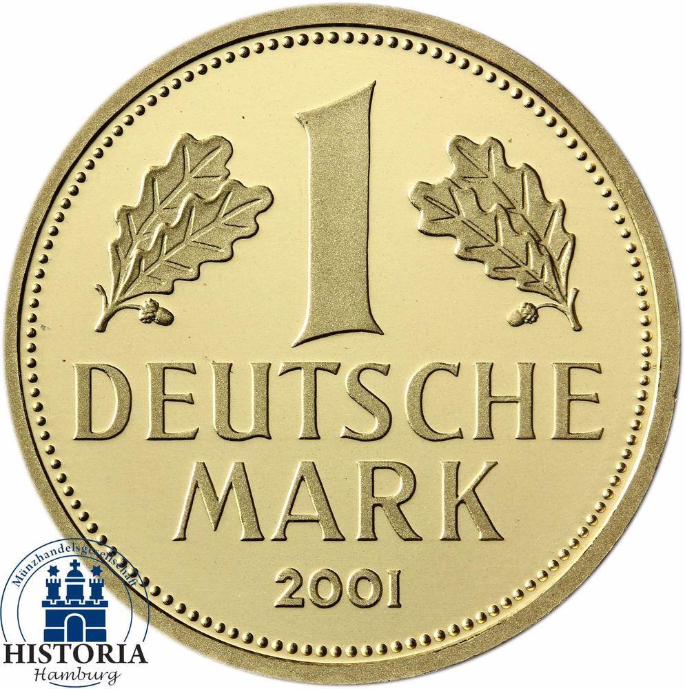 Details Zu 1 Dm Goldmünze Der Bundesrepublik Deutschland Die