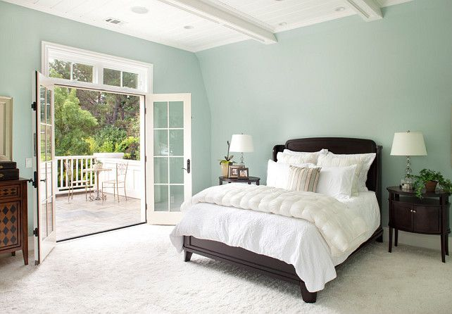 """My downstairs """"Woodlawn Blue"""" HC-147 by Benjamin Moore"""