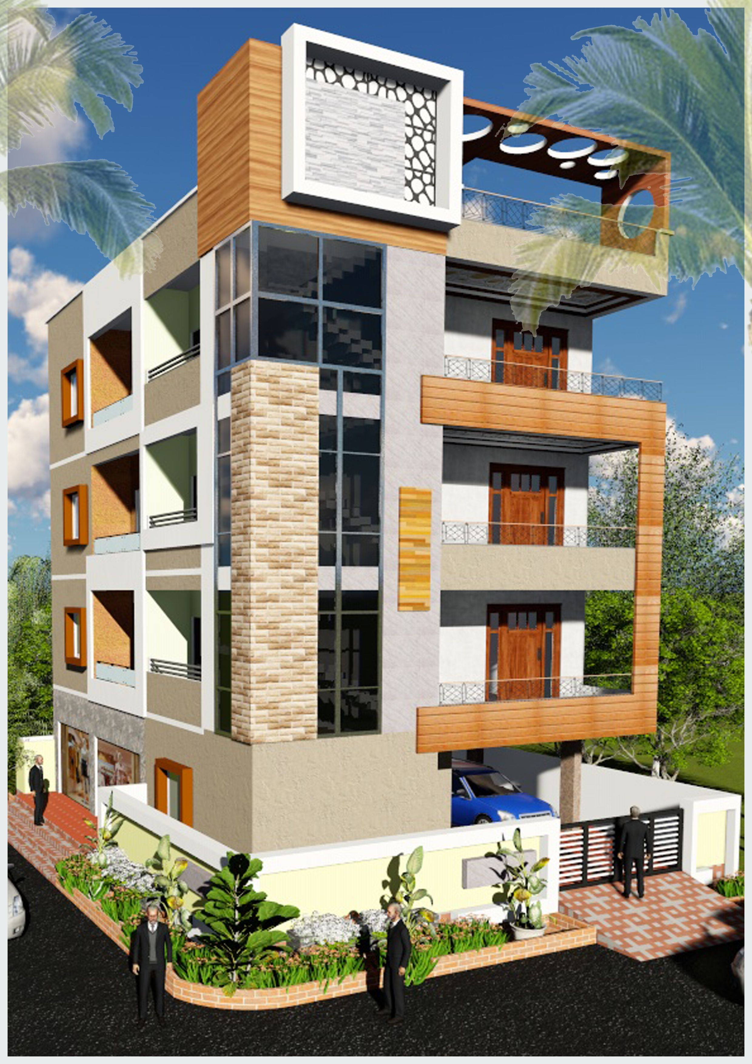 House Front Design Small House Elevation Design Architectural House Plans: House Front Design, Simple House Design, Exterior Design
