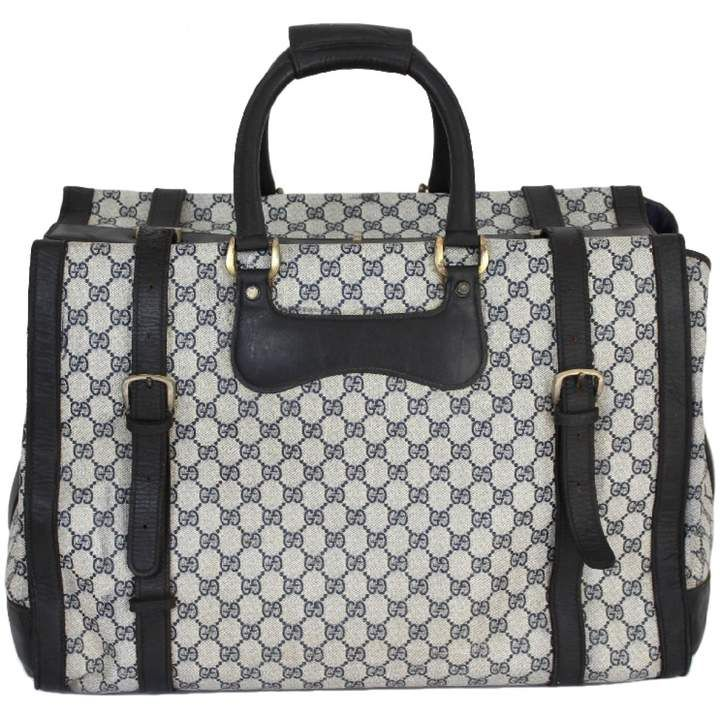 999dd1bf9ed224 Gucci Cloth travel bag | Vintage Gucci bag | Gucci travel bag ...
