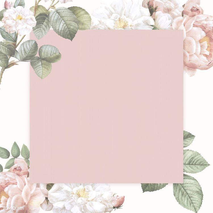 سكرابز خلفيات ماركات قهوه عيد Floral Border Design Floral Poster Illustration Design