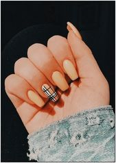 48 Pretty Acrylic Coffin Nails Design You Need To Try – Coffin nails designs