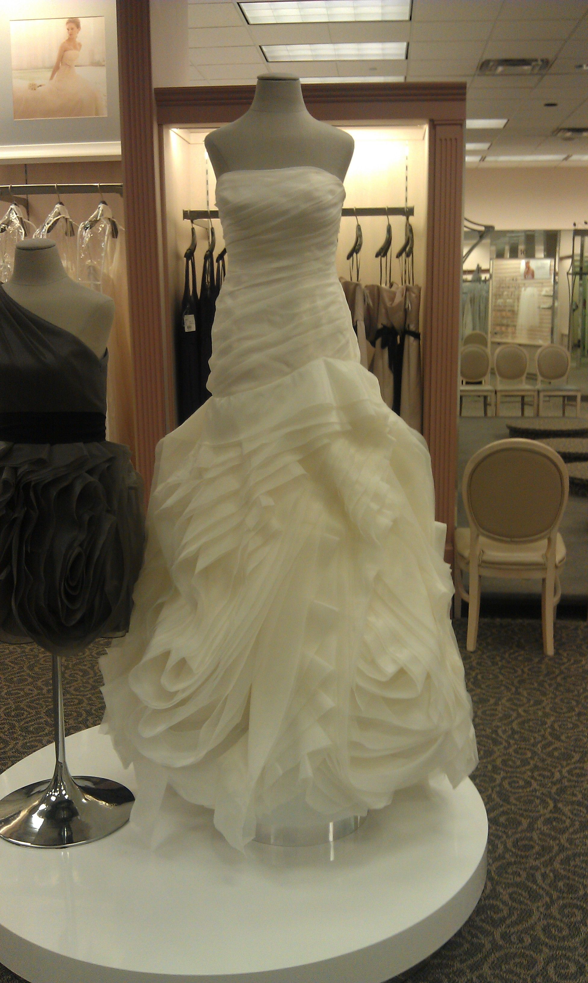 Bridal Gown From White By Vera Wang Picture Taken At