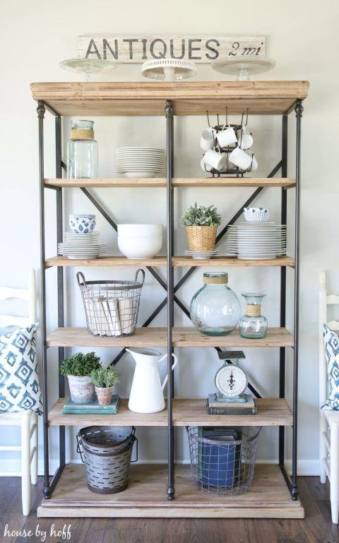 Best 25 open bookcase ideas on pinterest diy industrial for Diy industrial bookshelf