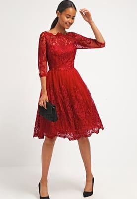 Soldes Chi Chi London AVIANA - Robe de soirée - red rouge  100,00 5ba2c171bc3