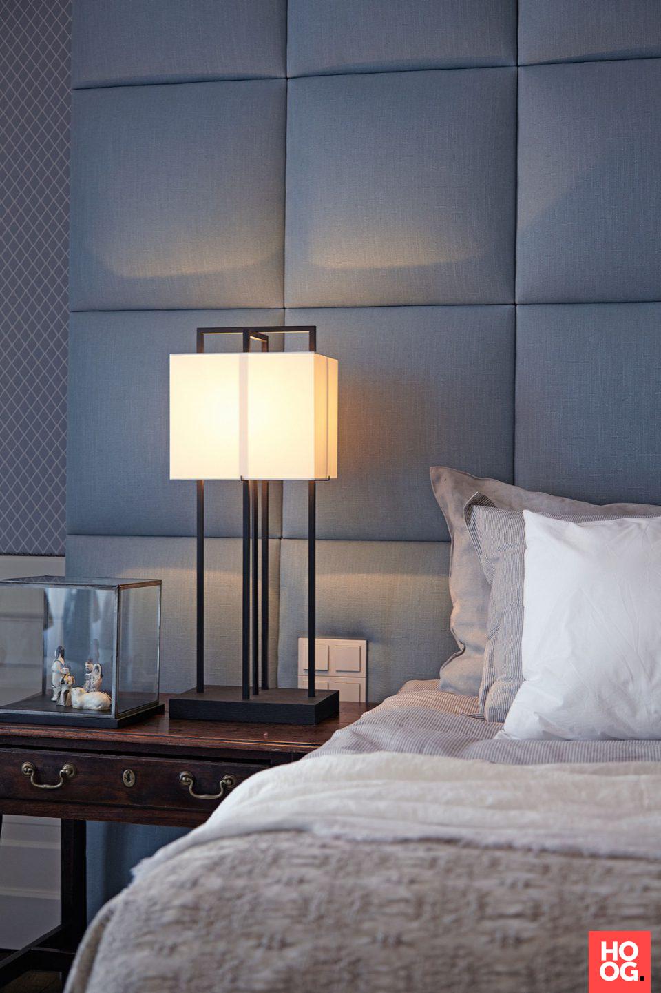 Luxe slaapkamer ontwerp met design verlichting | slaapkamer ideeen ...