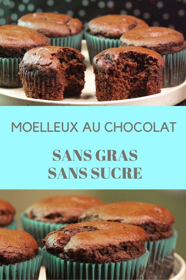 Recette : Le moelleux au chocolat sans beurre ni sucre ...