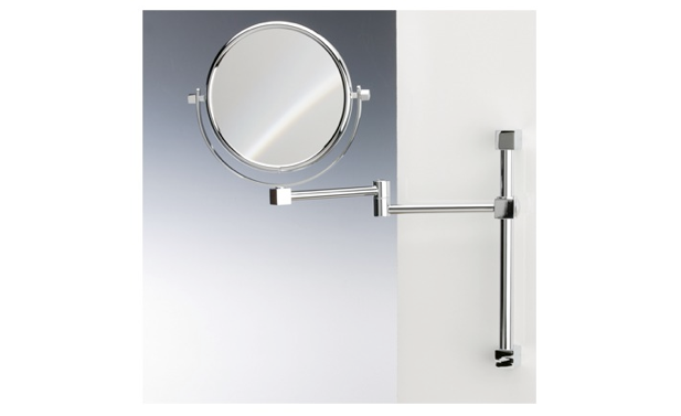 High/Low: A Fog-Free Shower Shaving Mirror