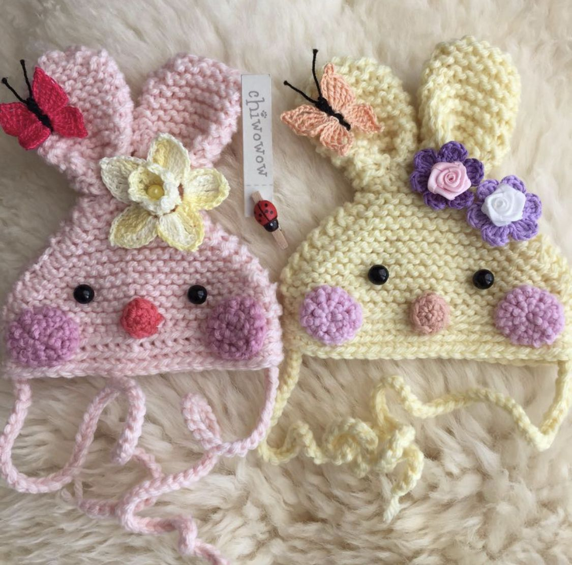 Easter Bunny Hats. By Chiwowow. 04/03/2019 | Baby hat ...