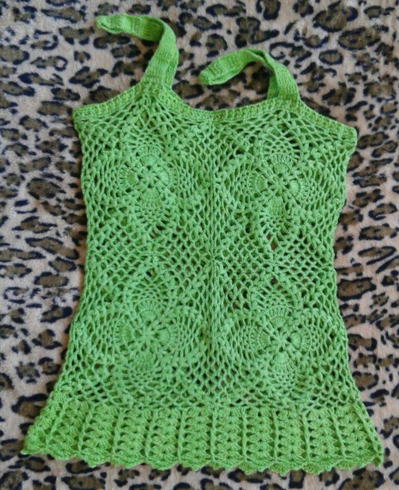 6b66867f8 Katia Ribeiro Crochê Moda e Decoração | odzież na szydełko | Crochet ...