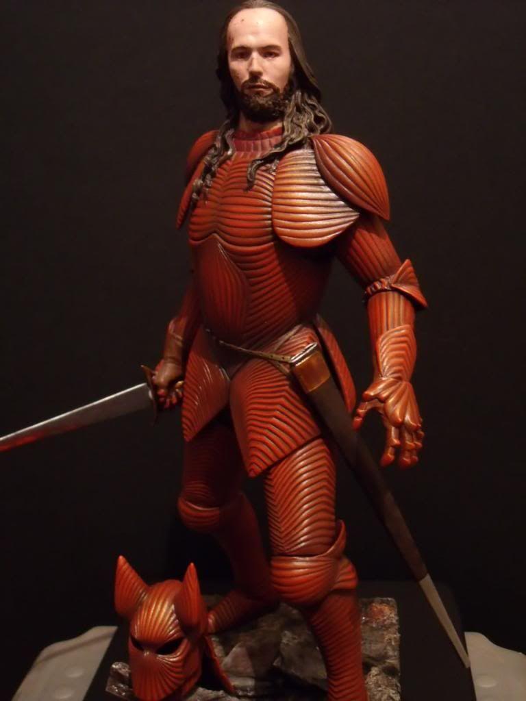2018 年の wax figure of gary oldman as dracula in armor 石岡瑛子