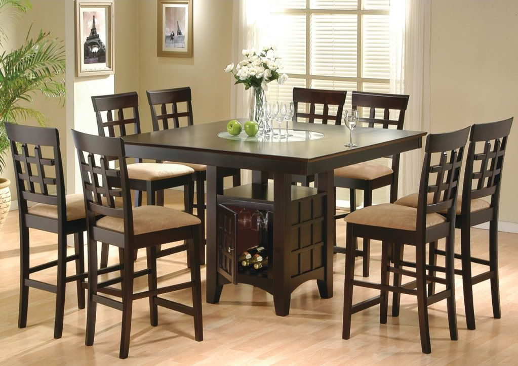 Counter Height Dining Room Table Sets  Dining Room Table Sets Inspiration Height Dining Room Table Inspiration