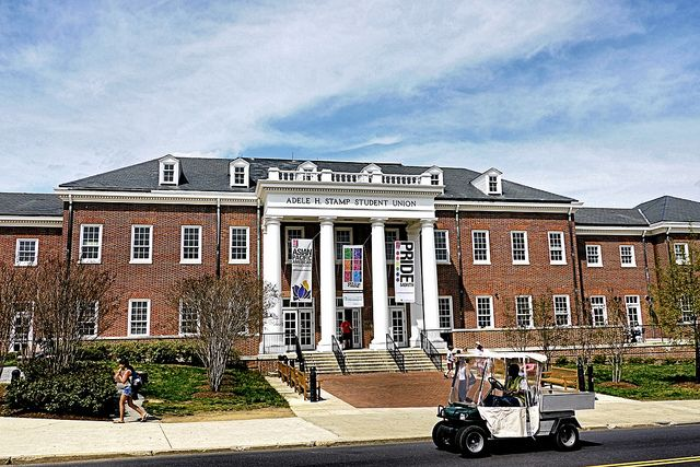 The Adele H Stamp Student Union Commonly Referred To As Is Activity Center On Campus Of University Maryland College Park
