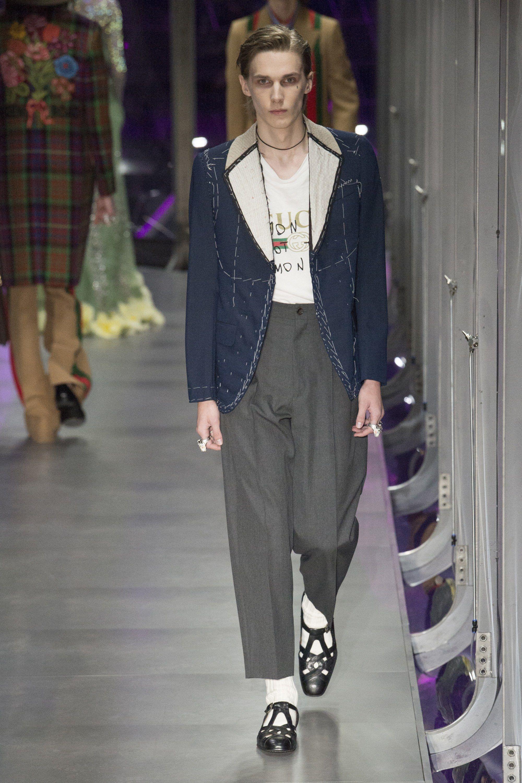 e565573c6b7ab Gucci Fall 2017 Menswear Fashion Show