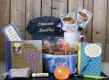 humorous cancer gift basket